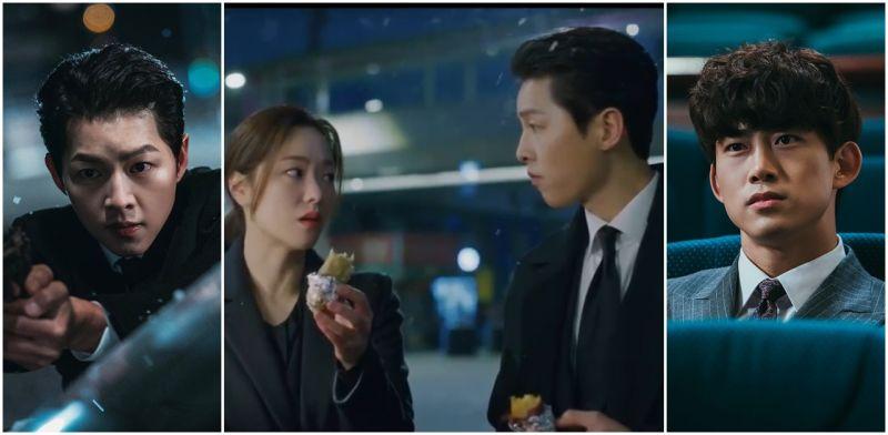 [有雷] 韓式幽默《黑道律師文森佐》宋仲基這次代言地瓜?為什麼欺負他的鴿子被取名「印字機」?(EP9-10)