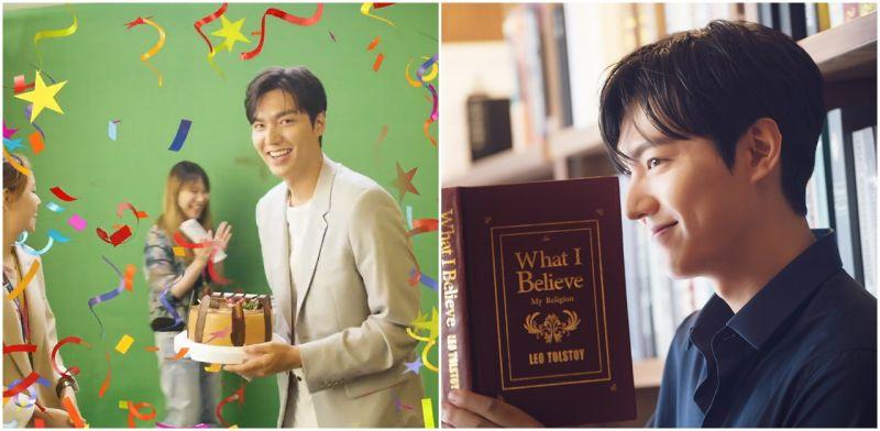 [有片]李敏鎬被慶生好靦腆! 來台拍攝還收到蛋糕