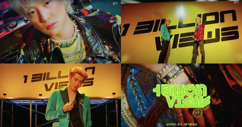 EXO-SC 最新 MV 预告片公开!〈1 Billion Views〉大走复古迷幻风