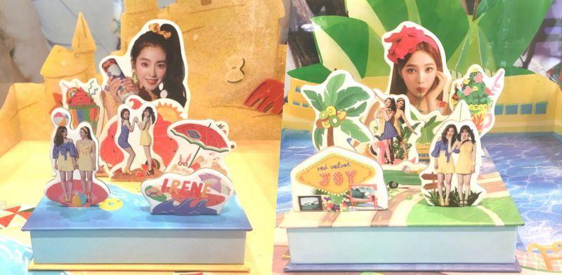 超精美! Red Velvet限量版專輯實物圖公開 5人5色都有不同的設計!