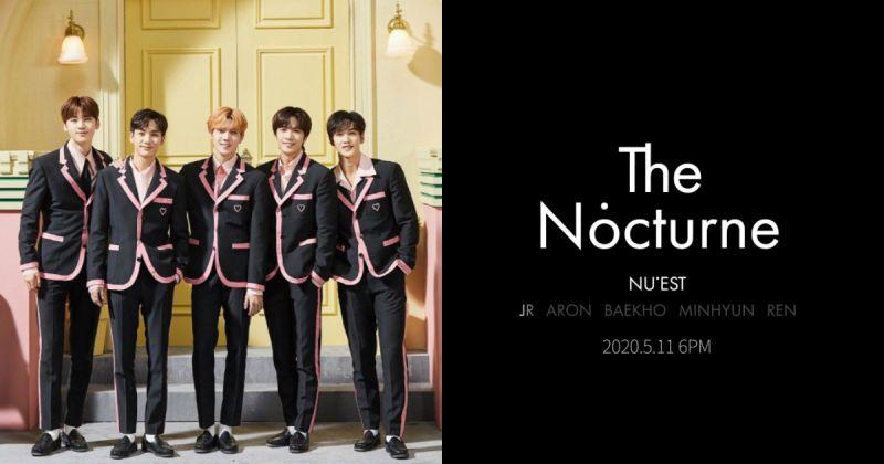 NU'EST 要回来了!迷你八辑〈The Nocturne〉5 月中问世