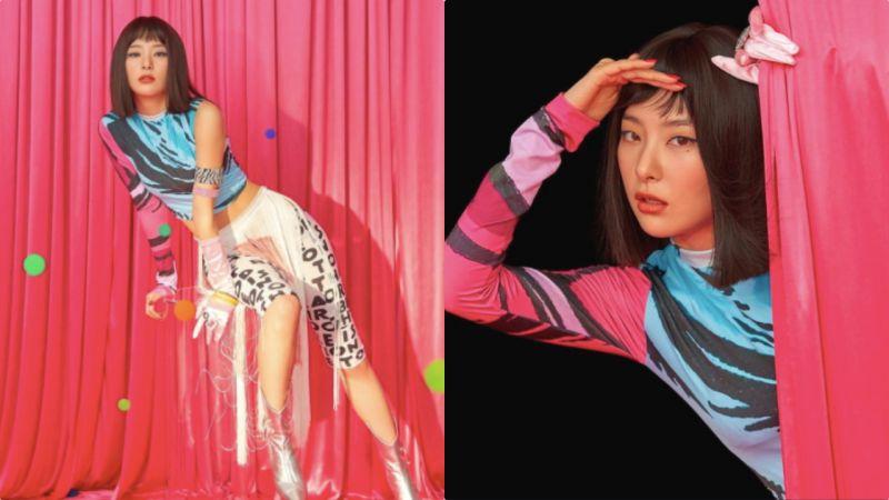 Red Velvet涩琪哭起来也超萌啊~一定要「拉帘子」遮住XD