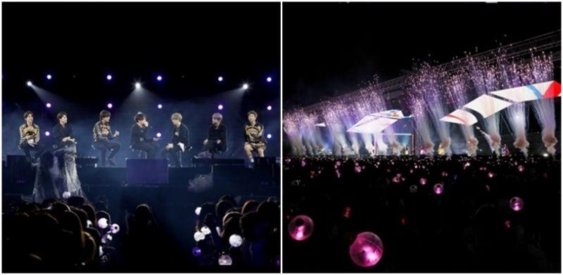 BTS防弹少年团      与4万4千名ARMY共同度过魔法般的釜山夜