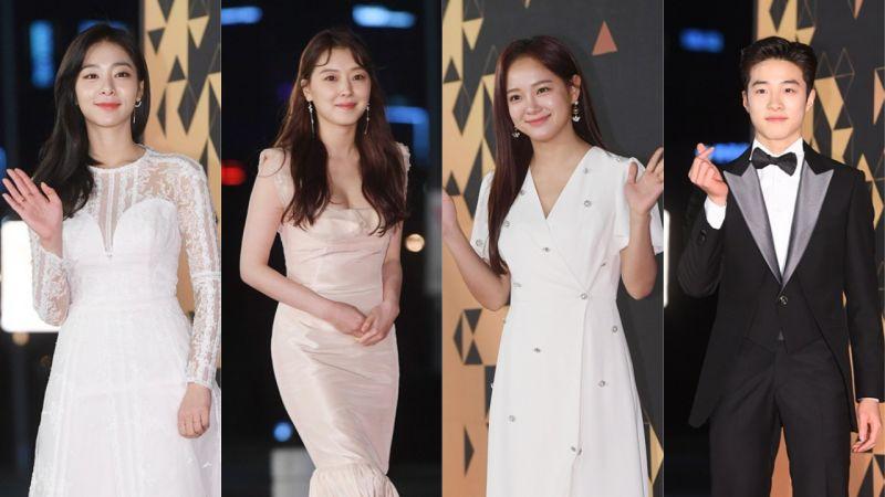 【2018 KBS演技大賞】紅毯照:超多明星們都來啦!來看看又美又帥的紅毯照~