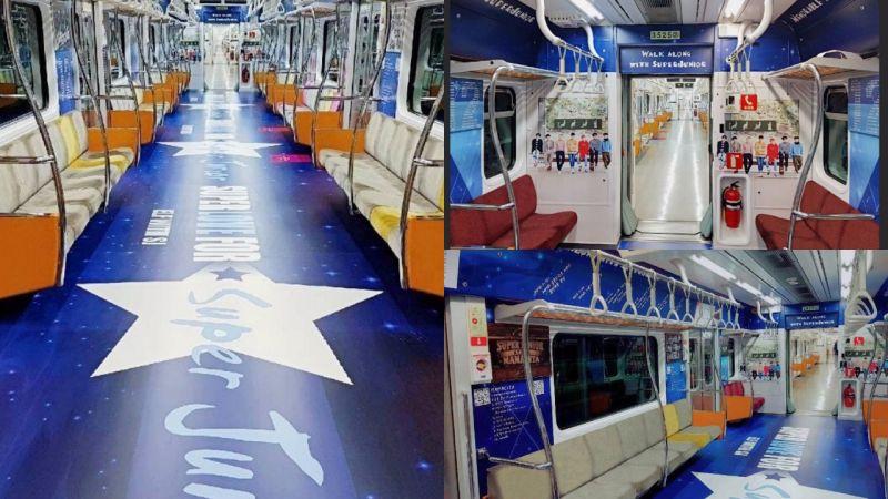 【追星景点】ELF打造「Super Junior时光列车」!欧爸们出道12年的大事纪都在这里面!
