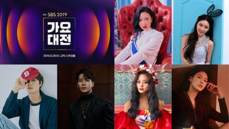 《SBS歌謠大戰》合作舞臺陣容公開:華莎&請夏、JR&Jackson、子瑜&雪炫,完全令人期待呀!
