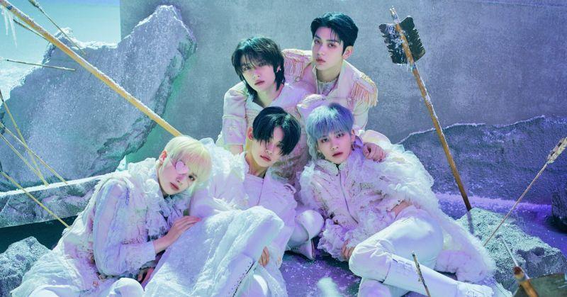高顏值男團TXT新輯超狂:登頂日本公信榜專輯日榜