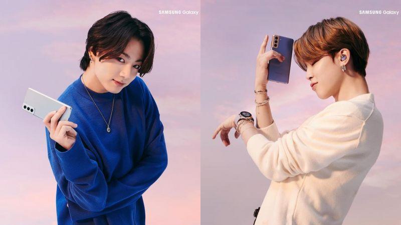 三星Samsung成功讓BTS防彈少年團接續代言,公開7位「男友照」寫真帥氣逼人~