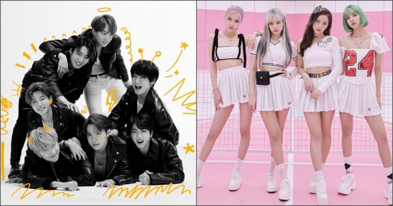 告示牌內部票選年度 50 大專輯 BTS防彈少年團、BLACKPINK 入選!