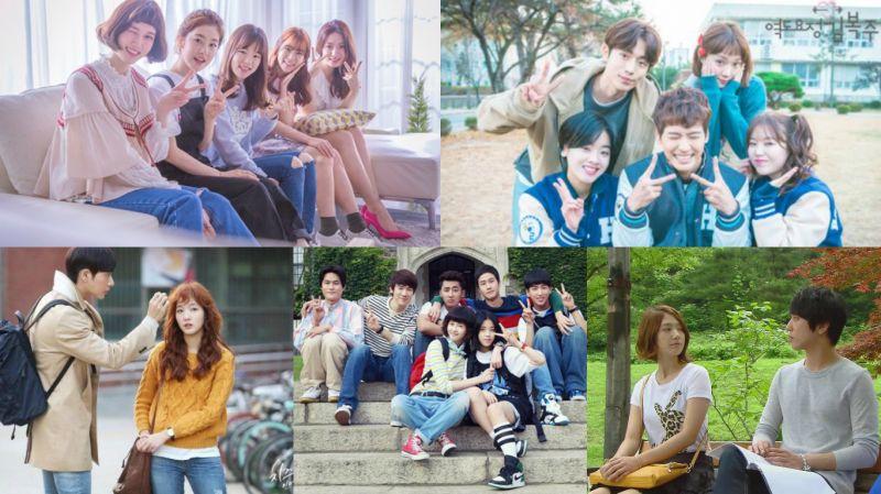 大學生活背景的韓劇真的讓人很有共鳴!你最喜歡的是哪一部呢?