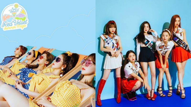 Red Velvet《Summer Magic》回歸預告海報公開!主打曲為《Power Up》
