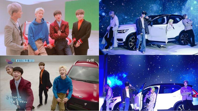 WINNER出席了汽車品牌的活動!但...這個畫面怎麼好像有點熟悉呢!