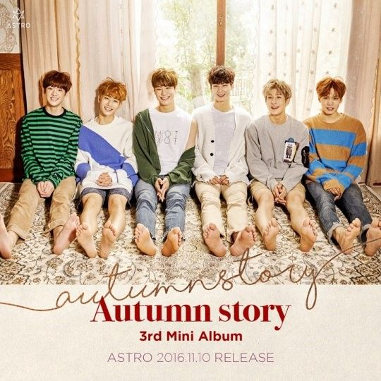 ASTRO即将於11/10日发行新专辑Autumn Story 公开秋日少年预告照
