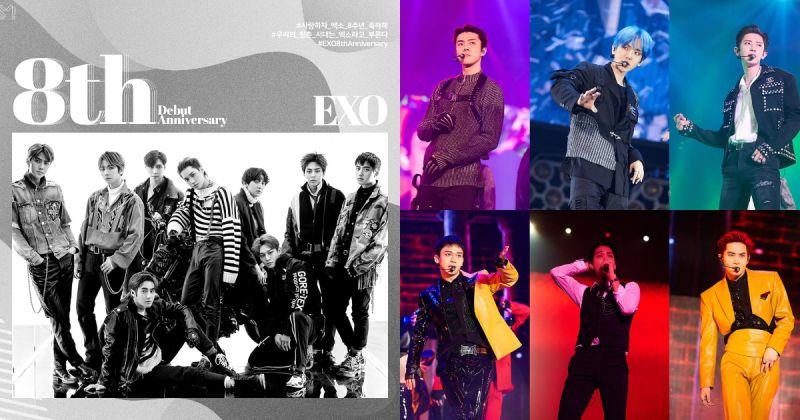 恭喜 EXO 出道八周年!代表作纷纷重返榜单