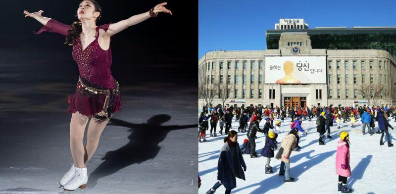 冬季限定的溜冰場:開放時間總整理!
