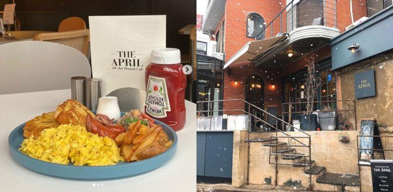 【延南洞美食探訪】SHINee成員Key都來拜訪的brunch:The April