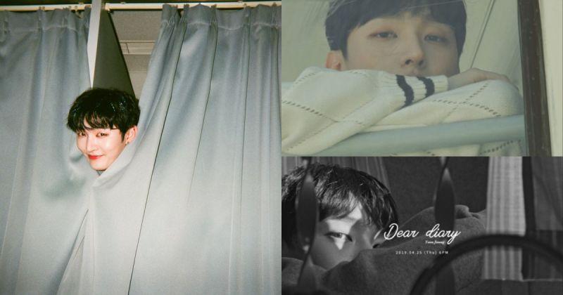 抚慰初春的感伤心情 尹智圣特别专辑〈Dear Diary〉下周发行!