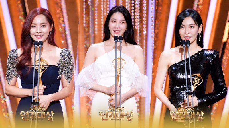 超強!《The Penthouse》所有主角9人全部獲獎,成「2020 SBS演藝大賞」贏家!