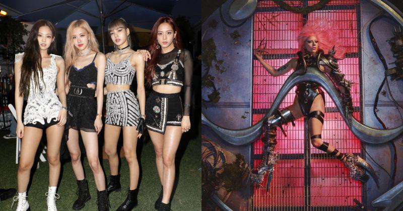 韓女團第一次 BLACKPINK、Lady Gaga 合作曲打入英國官方榜!