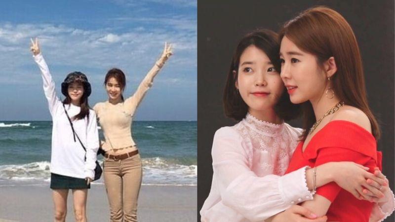 令人羡慕的至亲姊妹!对刘寅娜来说IU是...亲近的朋友、可爱的妹妹,也是她的粉丝!