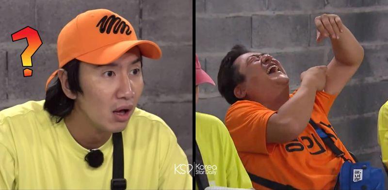 《Running Man》李光洙「做不了這件事」,讓前輩郭度沅笑到跌地