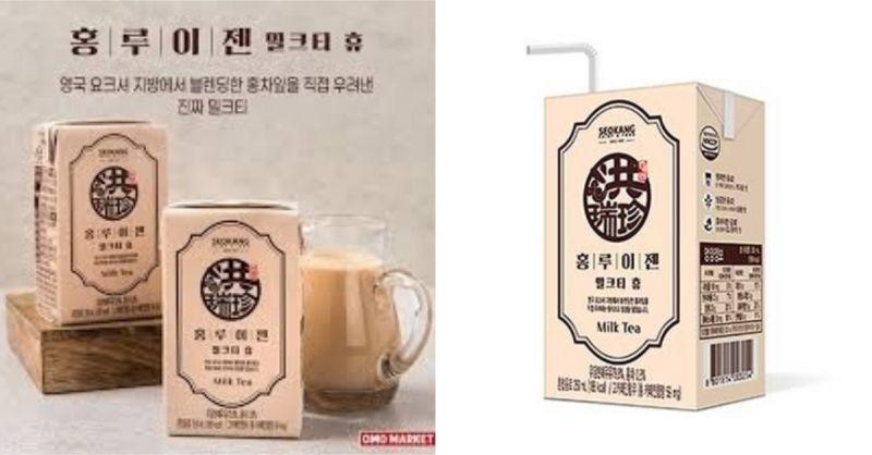 洪瑞珍也新出一款鮮奶茶...在CU便利店就可以喝到!