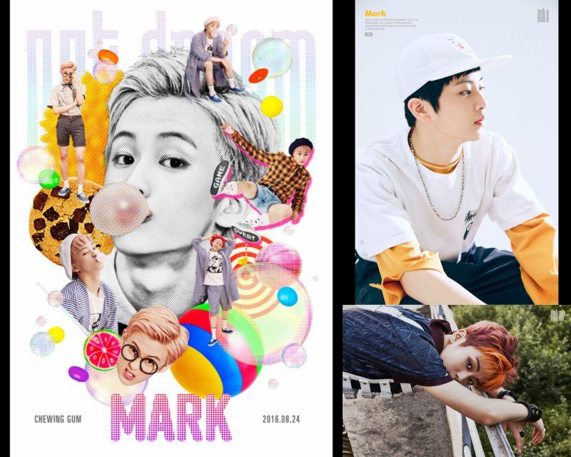 四個月裡出道三次的偶像...NCT Mark!