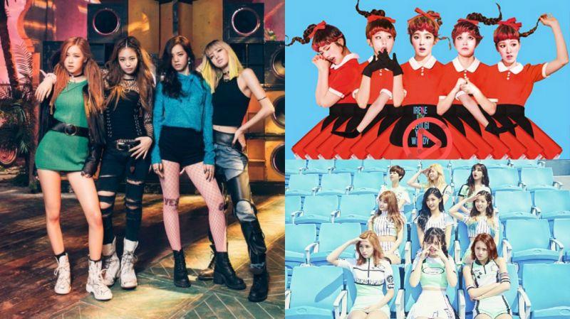 你喜欢这个版本吗?Red Velvet&TWICE&BLACKPINK歌曲混音版!