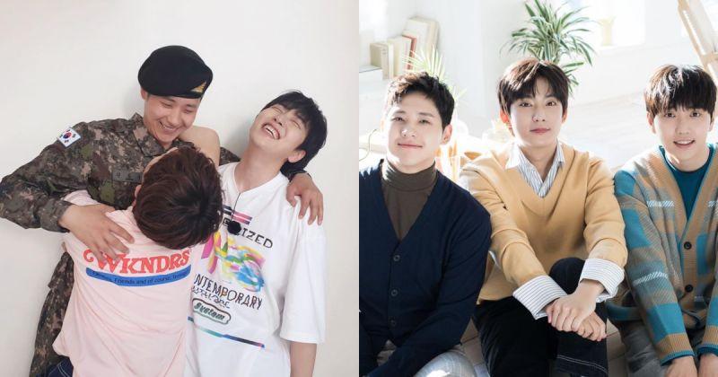 B1A4 團聚啦!CNU、燦多、孔燦抱成一團超感人