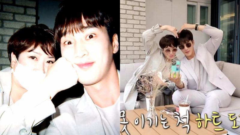 安普贤带妈妈出演《我独自生活》,明明是母子却更像姐弟!