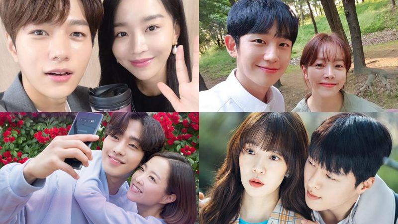 近期六部韓劇現實中「姐弟戀」的歲差,最多居然相差超過10歲!!!