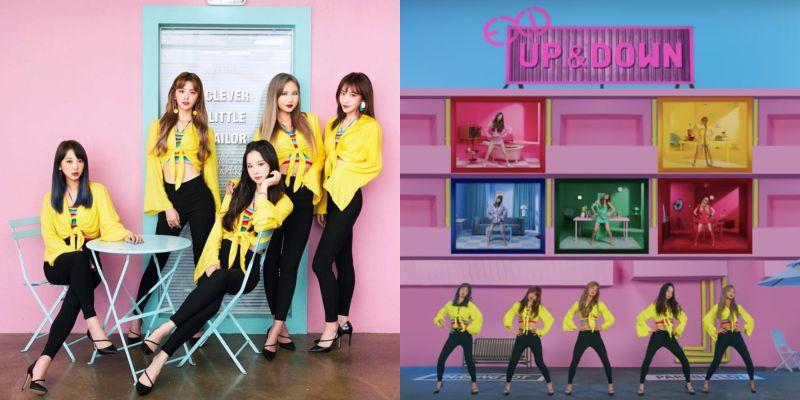 第三種語言的〈Up & Down〉即將誕生!EXID 日語版 MV 預告五人到齊