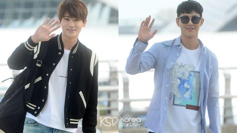 他们要去峇里岛度假啦!朴炯植&Jisoo帅气的机场照来了!