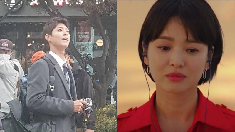 据说这才是朴宝剑正确的打开方式?网友目击tvN《男朋友》拍摄!宋慧乔最新预告影片也出炉