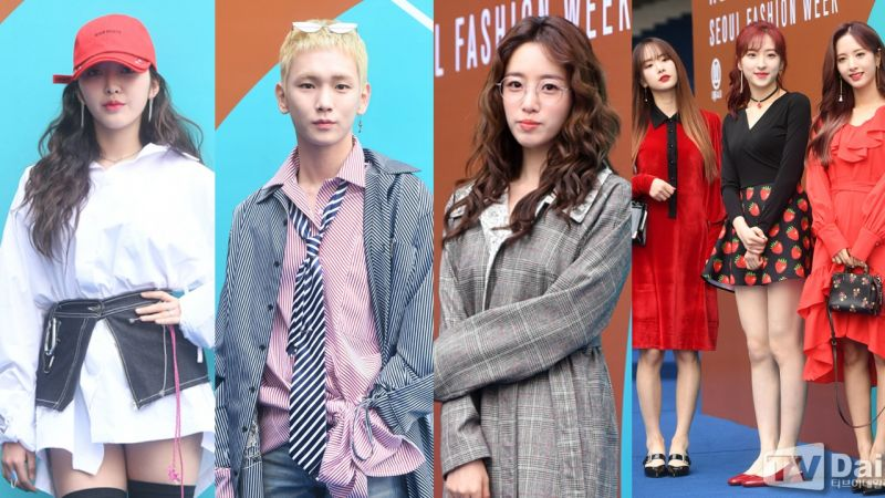 【2018 F/W HERA首爾時裝周】最後一天更加星光耀眼!