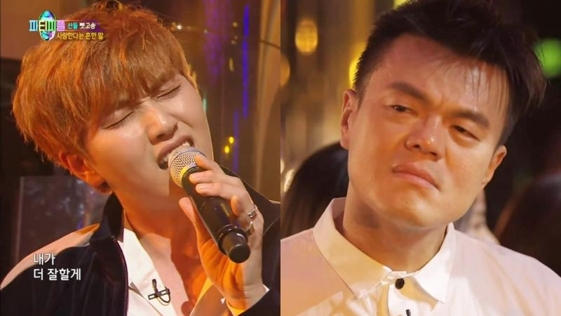 《朴軫永的Party People》原來B1A4有三名成員參加過JYP的試鏡~!聽完燦多唱當年的歌讓人感動想哭…
