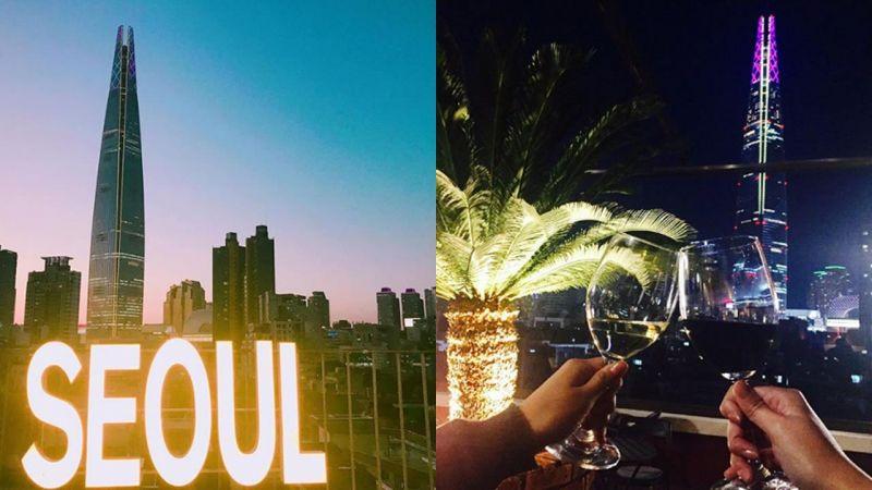 【首爾必玩】擁有絕美夜景的咖啡店 與「SEOUL大字」合影從早到晚怎麼拍都好美~