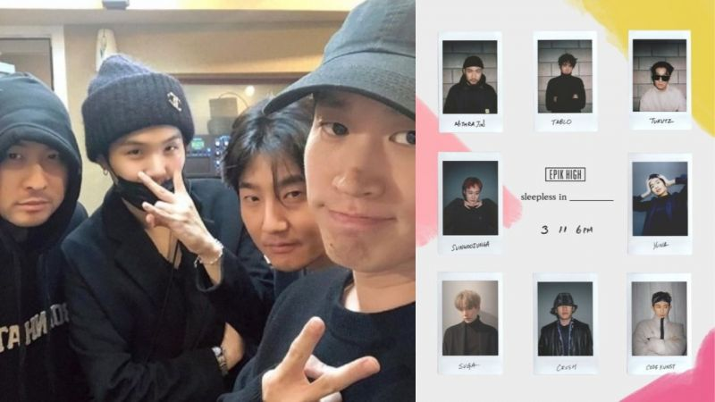 榜样与实力派后辈的相遇!BTS防弹少年团SUGA以制作人身份参与Epik High新专辑!