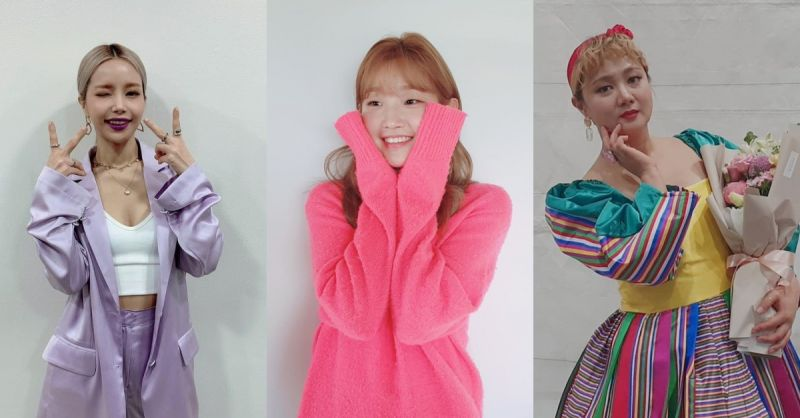 JTBC全新綜藝!MAMAMOO頌樂&朴素丹&朴娜勑將共同演出新節目《感性露營》~