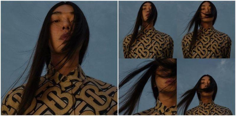 這真的是劉亞仁!挑戰黑色長髮披肩風格令人驚豔