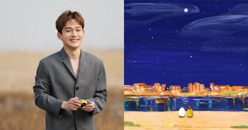 確定啦!Chen 10 月初攜六首新歌回歸