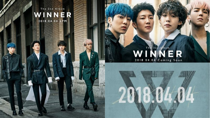 WINNER正規2輯回歸預告照公開!全新造型吸引大家視線!