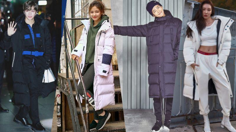 爱豆们防寒+耍帅+造型全靠这一件!韩国最流行冬装就是它!