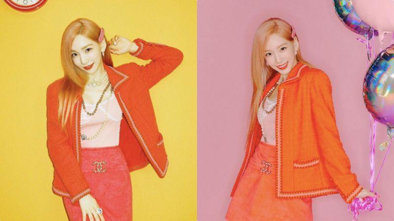 韓國網友:「幾個月前我在二手網站賣了套C牌套裝,最近看到太妍穿了一模一樣的衣服」!
