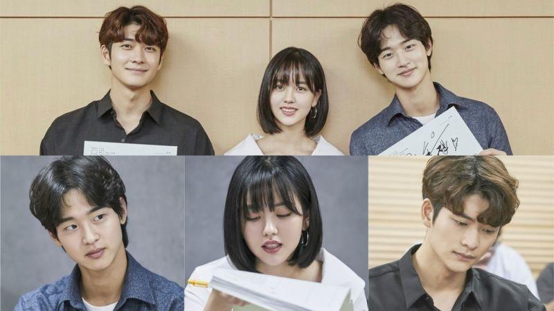 金所炫、张东尹、姜泰伍等主演KBS新剧《绿豆传》公开剧本阅读现场!下月(9月)首播