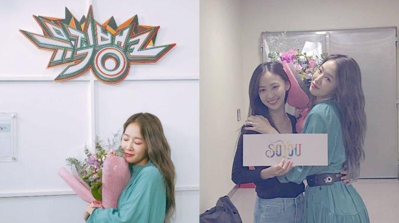 SISTAR的姐妹情!「忙內」多順為回歸歌壇的昭宥應援 讓姐姐又驚喜又感動
