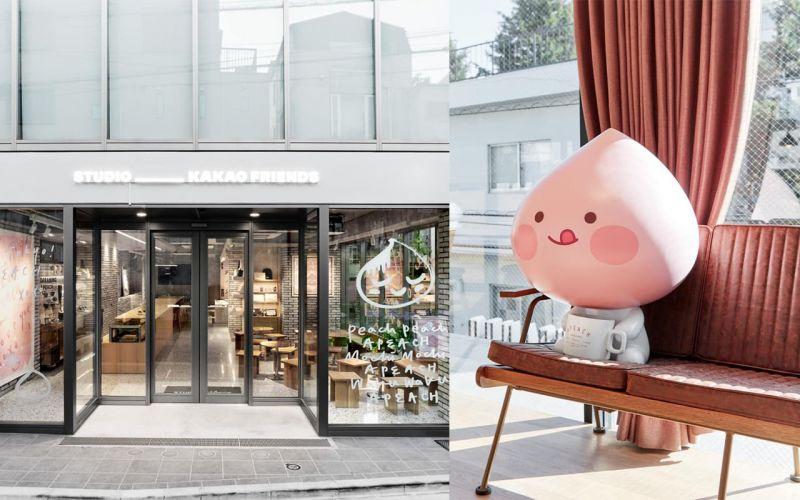Kakao Friends的Apeach要向東京的粉絲Say Hello啦~♥