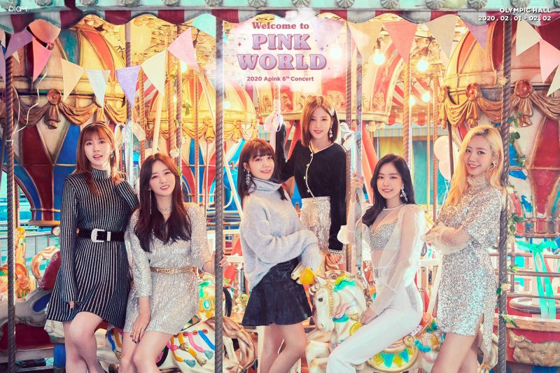 「Welcome to PINK WORLD~」Apink 3月28日要来香港跟「Panda」见面啦!
