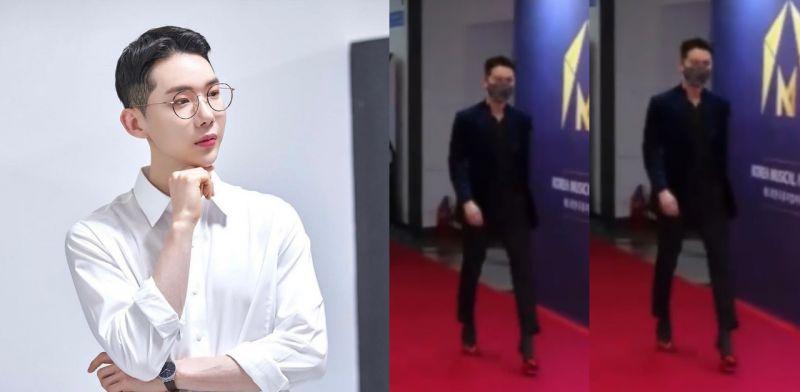 赵权圆梦了:我的梦想就是穿著高跟鞋走红毯,这次终於!