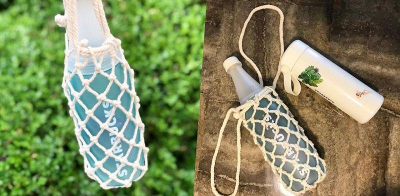 渔网袜过气了! 韩国星巴克推出「渔网随行杯」才正夯!
